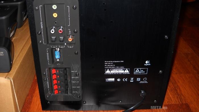Ngõ vào kết nối với các thiết bị khác để phát nhạc