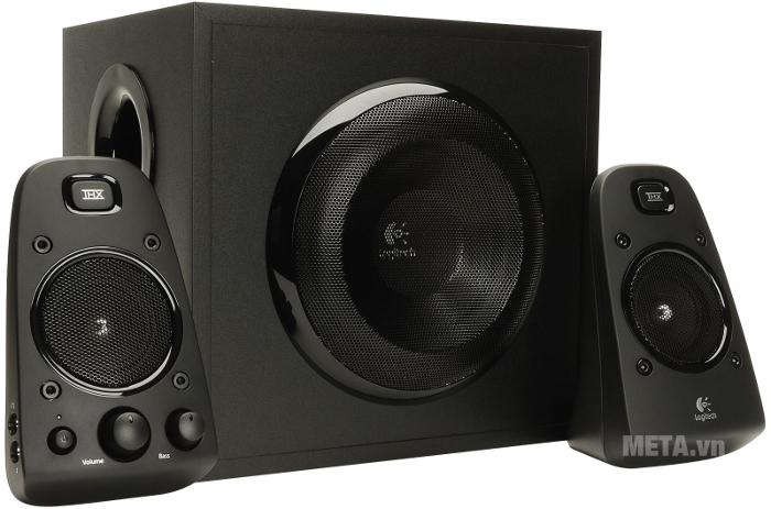 Bộ 3 loa Speaker System Z623 - EU thiết kế đầy mạnh mẽ tăng cường âm Bass thu phục người nghe