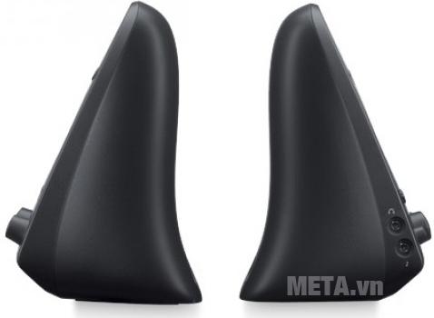 2 loa vệ tinh có độ mềm mại tăng nét thẩm mỹ cho bộ 3 loa Speaker System Z623 - EU