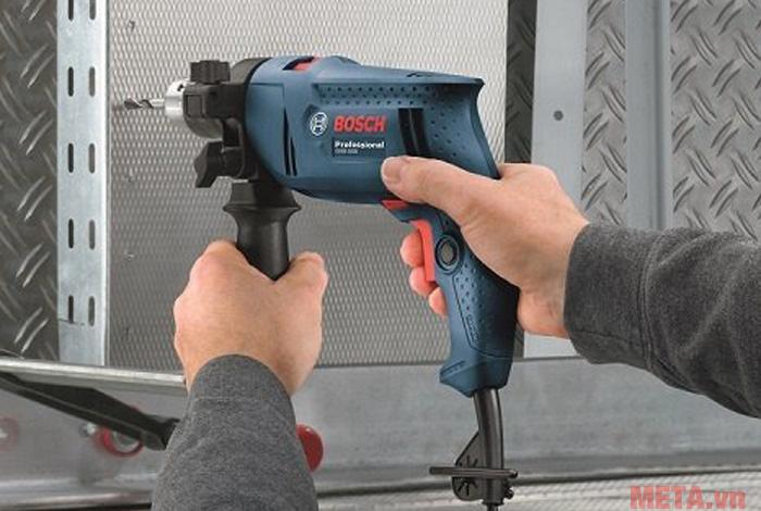 bộ máy khoan bosch gsb 550 không tính tiềndom set 550w và 90 chi tiết - bộ máy khoan cầm tay kèm 90 chi tiết