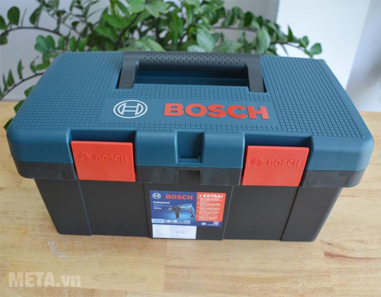 bộ máy khoan bosch gsb 550 không lấy phídom set 550w và 90 chi tiết - bộ máy khoan cầm tay kèm 90 chi tiết