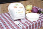Mẹo nấu cơm ngon bằng nồi cơm điện tử Sharp KS-COM18V