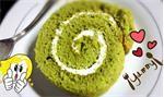 Làm bánh bông lan trà xanh bằng nồi cơm điện cực dễ