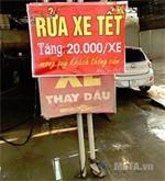 """Rửa xe """"kiếm trăm triệu"""" ngày cuối năm"""