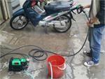 Máy rửa xe gia đình có tốn điện nước không?