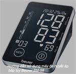 Hướng dẫn sử dụng máy đo huyết áp bắp tay Beurer BM-58