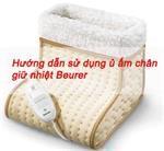 Hướng dẫn sử dụng ủ ấm chân giữ nhiệt Beurer FW20