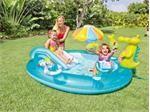 Top 5 bể bơi phao có cầu trượt cho bé thích mê