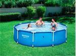 3 Lý do nên dùng bể bơi lắp ghép khung kim loại cho gia đình