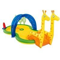 Bể bơi phao cầu trượt hình con hươu Bestway 53060