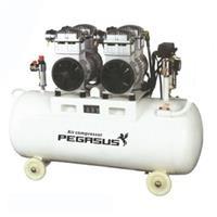 Máy nén khí không dầu, giảm âm Pegasus TM-OF550x2 70 lít