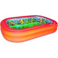 Bể phao 3D hình chữ nhật (kèm theo 2 kính bơi 3D) Bestway 54114