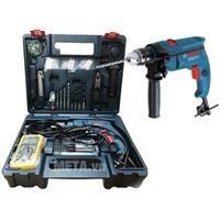 Bộ set máy khoan động lực Bosch GSB 550E Electrican 80 món phụ kiện