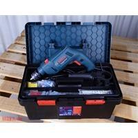 Bộ máy khoan Bosch GSB 550 Freedom Set 550W và 90 chi tiết