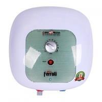 Bình nóng lạnh Ferroli Cubo Export 15L chống giật, công suất 2500W