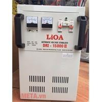 Ổn áp 1 pha Lioa 15KVA DRI 15000II (Dải điện áp đầu vào 90V - 250V)