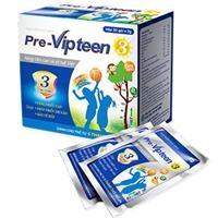 Pre-Vipteen 3 - Hỗ trợ phát triển chiều cao, xương răng chắc khỏe