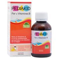 Pediakid Fer + Vitamines B - Bổ sung sắt và vitamin nhóm B (125ml)