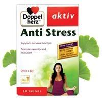 Thực phẩm chức năng bổ não Doppelherz Aktiv Anti Stress (30 viên)