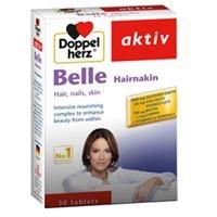 Thực phẩm chăm sóc da, tóc, móng Doppelherz Aktiv Belle Hairnakin (30 viên)
