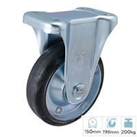 Bánh xe đẩy cao su cố định Nansin SKM-150 VS (200kg)