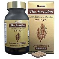 The Fucoidan chiết xuất 100% tảo nâu Okinawa Nhật Bản Waki (90 viên/lọ)