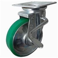 Bánh xe đẩy PU xoay có khóa Ethos 663PUZ150JB01 (400kg)