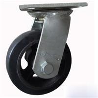 Combo 2 bánh xe đẩy cao su xoay Ethos 491XRQ160P45 (227kg)
