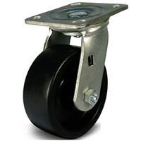 Bánh xe đẩy phenolic chịu nhiệt xoay Ethos 491XHQ125P45 (410kg)