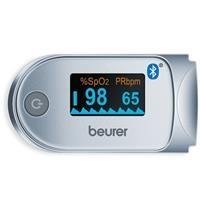 Máy đo nồng độ oxy trong máu SpO2 và nhịp tim Beurer PO60