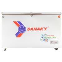 Tủ đông 2 ngăn 2 cánh inverter Sanaky VH-4099W3 400 lít