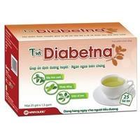 Trà Diabetna - Thực phẩm chức năng hỗ trợ ổn định đường huyết (Hộp 25 túi lọc)