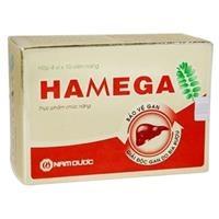 Hamega - Thực phẩm chức năng bảo vệ và giải độc gan (4 vỉ x 10 viên)
