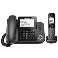 Điện thoại bàn Panasonic KX-TGF310CX (1 có dây, 1 không dây)
