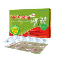 Viên uống Nữ Vương New - Dùng cho phụ nữ bị viêm nhiễm phụ khoa (Hộp 30 viên)