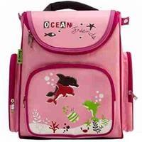 Balo chống gù Ocean Friends B-12-017 (hồng nhạt)