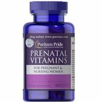 Viên uống bổ sung vitamin tổng hợp Prenatal Vitamins (3700 - hộp 100 viên)