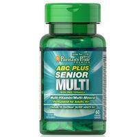 Vitamin, khoáng chất cho người trên 50 tuổi ABC Plus® Senior Multivitamin Multi-Mineral Formula (7190 - hộp 60 Viên)