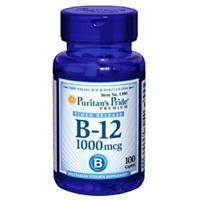 Viên uống bổ sung Vitamin B-12 1000 mcg Timed Release (1380 - hộp 100 viên)
