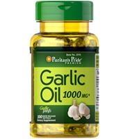 Viên uống dầu tỏi Puritan's Pride Garlic Oil 1000 mg (2970 - Hộp 100 Viên)