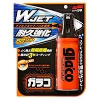 """Phủ nano kính ô tô chống mưa tức thì Glaco """"W"""" JET STRONG - SOFT99 (Phủ nano kính nhanh)"""