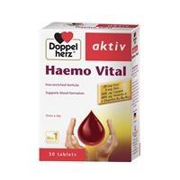 Thực phẩm bổ sung sắt Doppelherz Aktiv Haemo Vital (30 viên)