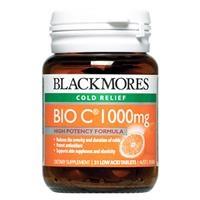 Thực phẩm chức năng Blackmores Bio C 1000mg (31 viên)