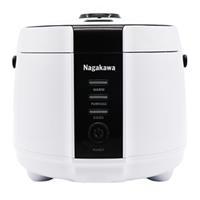 Nồi cơm điện đa năng Nagakawa NAG0131 (1,2L) - Bảo hành 12 tháng - Hàng chính hãng