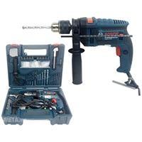 Máy khoan động lực Bosch GSB 13 RE (gồm bộ set 100 món)