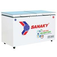 Tủ đông Sanaky 2 ngăn VH-3699W4KD (350L, nắp kính xanh)