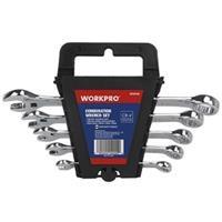 Bộ cờ lê vòng miệng Workpro W003308, 5 chi tiết hệ mét