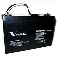 Ắc quy Vision 100Ah công nghệ AGM 6FM100D-X