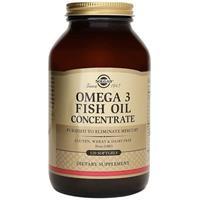 Thực phẩm bảo vệ sức khỏe Solgar Omega 3 Fish Oil Concentrate (120 viên)