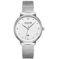 Đồng hồ nữ JA-1243A Julius Hàn Quốc dây thép